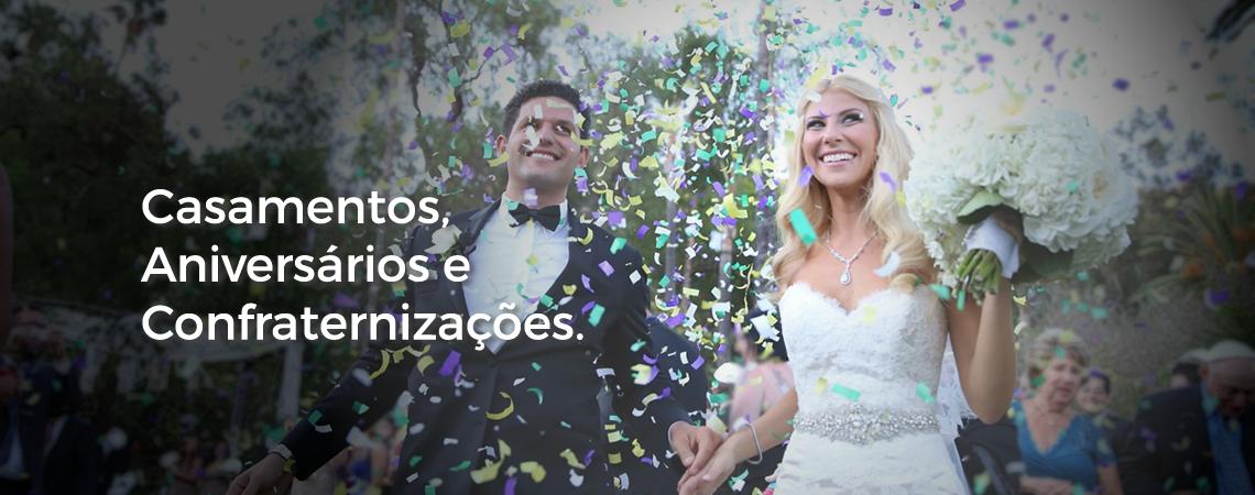 Casamentos, Aniversários e Confraternizações - HB Som e Luz