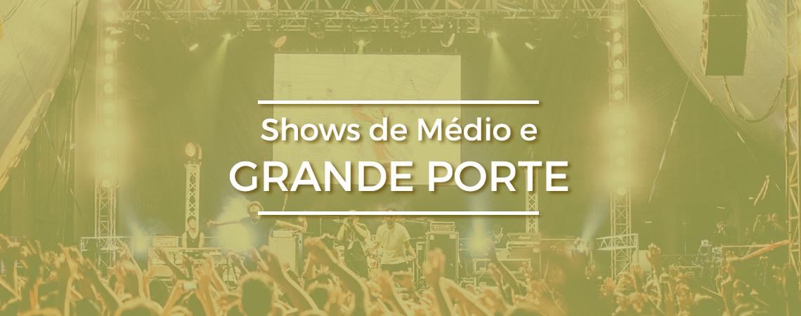 Shows de Médio e Grande Porte - HB Som e Luz